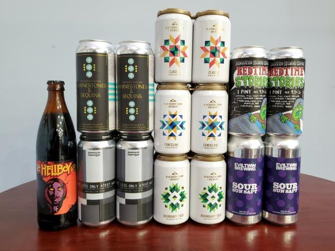 New Beer: Blackberry Farm, Stillwater, Gigantic, Abomination, Evil Twin