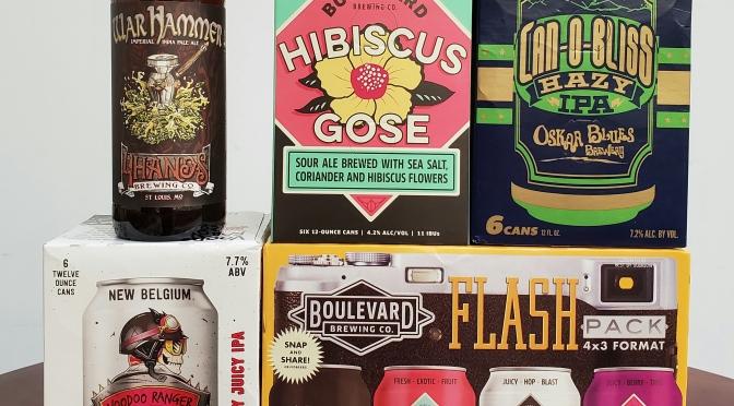 New Beer: New Belgium, 4 Hands, Boulevard, Oskar Blues