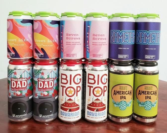 New Beer: Rockwell, Perennial, Urban Chestnut, Schlafly