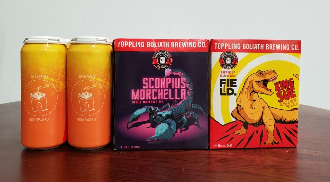Fresh Limited Releases from Maplewood and Toppling Goliath