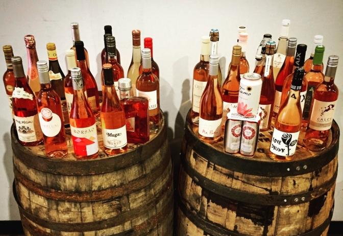 Spring Wine Event & Rosé Tasting Today!