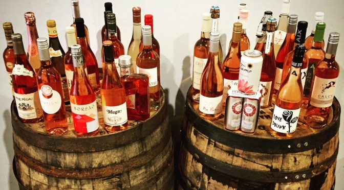 Spring Wine Event & Rosé Tasting Today!