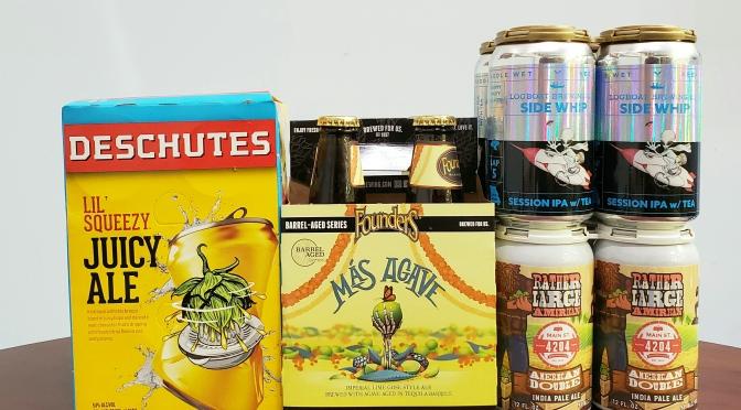 New Beer: Deschutes, Founders, Logboat, 4204 Main Street