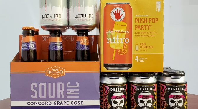 New Beer: 4 Hands, Left Hand, New Holland, Destihl