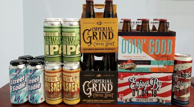 New Beer: 4 Hands, Missouri Beer Co, Mother's, Stone