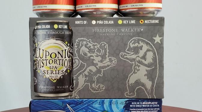 New Beer: 4 Hands, Firestone Walker, Sweetwater