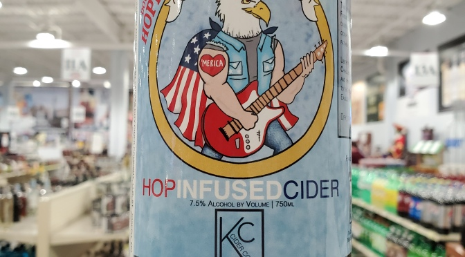 Kansas City Cider Hop, Flag, n Eagle