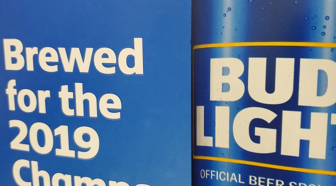 """Bud Light """"Champs"""" Aluminum bottles!!!"""