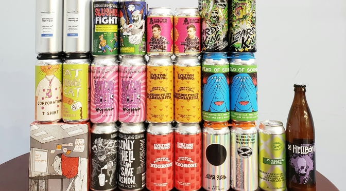 New Beer: Fat Orange Cat, Stillwater, Abomination, Evil Twin, Pipeworks, Gigantic
