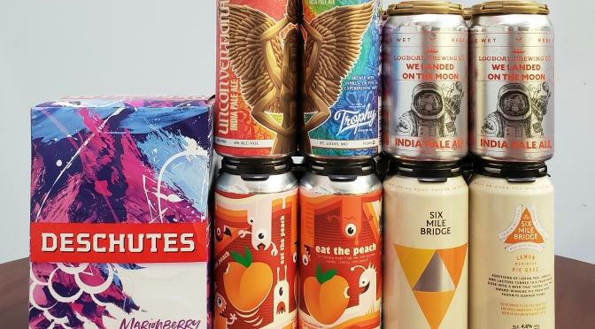 New Beer: Deschutes, 4 Hands, Logboat, Six Mile Bridge