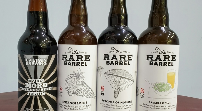 New Barrel Aged Beers from Evil Twin and The Rare Barrel