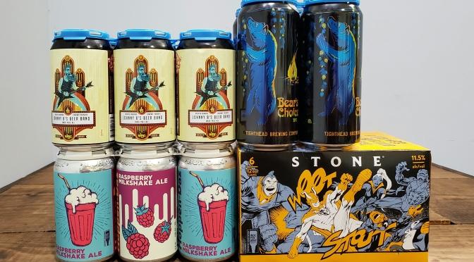 New Beer: Wichita, Tighthead, Bur Oak, Stone