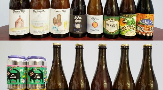 New Beer: Garden Path, Strange Roots, Grimm, Prairie, Jester King